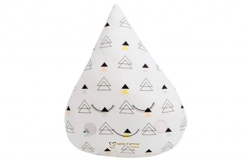 Almofada para Bebê de Gotinha New York Triângulo