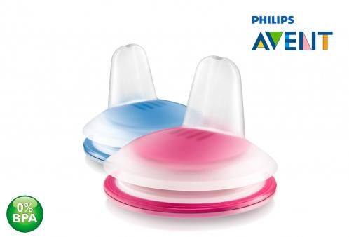 Bico Refil para Copo de Transição Pinguim Azul 200ml Philips Avent