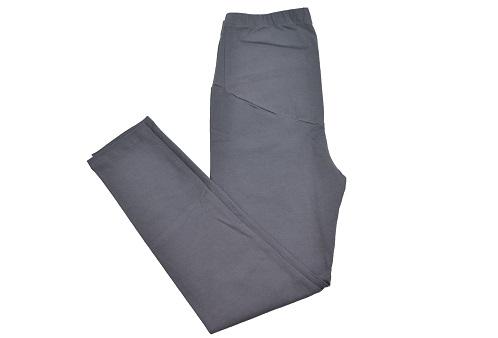 Calça Legging Gestante Menina & Meninas - Chumbo