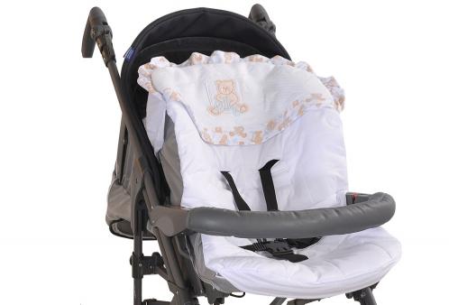Capa para Carrinho de Bebê ABC dos Ursos Hug Baby