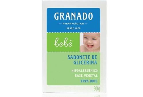 Sabonete de Glicerina Erva Doce Granado Bebê 90g