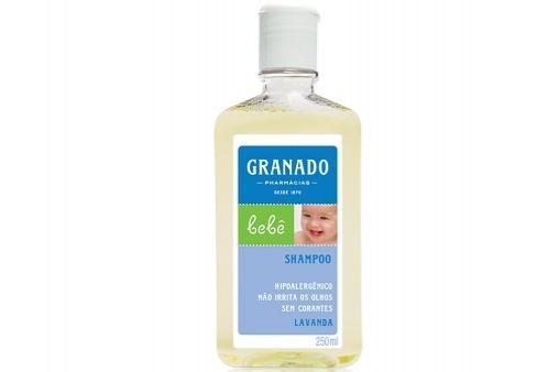 Shampoo Lavanda Granado Bebê 250ml