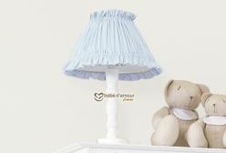 Abajur para Quarto de Bebê Bless Azul