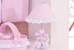 Abajur para Quarto de Bebê Princesa Sophie Rosa