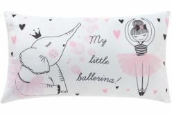 Almofada Coleção Little Ballerina em Camurça Suede Retangular