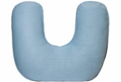 Almofada de Amamentação Tricô Azul