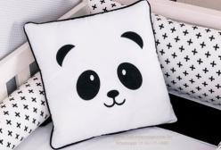 Almofada Enxoval Urso Panda