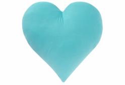 Almofada Love Fruit Coração Tiffany em Camurça Suede