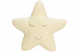 Almofada para Bebê de Estrelinha Amarela Completa 01 Peça