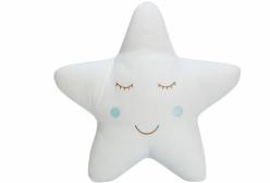 Almofada para Bebê de Estrelinha Azul Completa 01 Peça