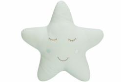 Almofada para Bebê de Estrelinha Verde Completa 01 Peça