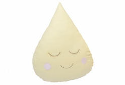 Almofada para Bebê de Gotinha Amarela