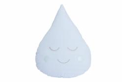 Almofada para Bebê de Gotinha Azul 01 Peça
