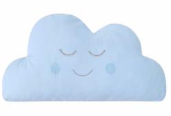Almofada para Bebê de Nuvem Azul 01 Peça