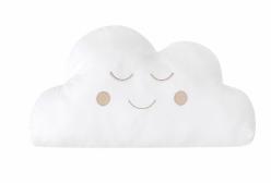 Almofada para Bebê de Nuvem Branca 01 Peça