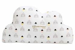 Almofada para Bebê de Nuvem New York Triângulo