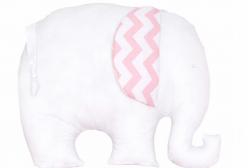 Almofada para Bebê Soho Chevron Rosa