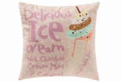 Almofada Quadrada Ice Cream Giz de Cor