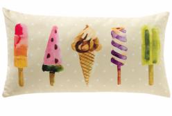 Almofada Retangular Ice Cream Giz de Cor