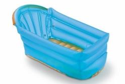 Banheira Inflável para Bebê Bath Buddy Azul