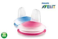 Bico Refil para Copo de Transição Pinguim Rosa 200ml Philips Avent