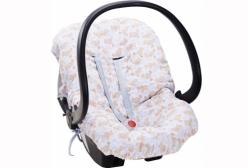Capa para Bebê Conforto Coleção Ursinho ABC Hug