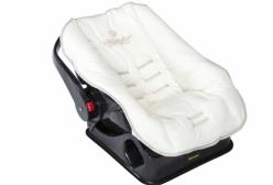 Capa para Bebê Conforto Imperial Marfim