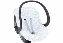 Capa para Bebê Conforto Ovelhinha Algodão Doce Rosa Hug Baby