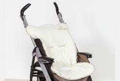 Capa para Carrinho de Bebê Coleção Imperial Marfim