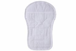 Capa para Carrinho de Bebê Laise Chantilly Branco 01 Peça