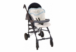 Capa para Carrinho de Bebê Little Bear Azul Hug Baby
