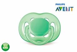 Chupeta de Bebê Ortodôntica Freeflow 6 à 18m Verde Philips Avent