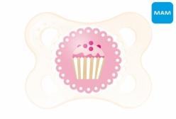 Chupeta MAM Pearl 0-6 Meses Cupcake