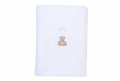 Cobertor de Bebê em Soft Theodore Rosa