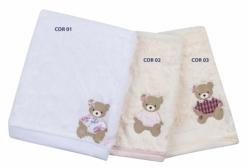 Cobertor em Pelo Antialérgico Forrado Ursinha Stella (3 cores) - Stella Floral