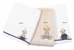 Cobertor para Bebê em Pelo Antialérgico Forrado Oxford (3 cores) - Cor 01