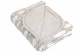 Cobertor Térmico para Bebê em Microsoft Nuvem Cinza