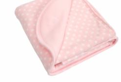 Cobertor Térmico para Berço ou Montessoriano em Microsoft Rosa