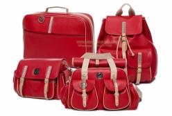 Conjunto Completo Bolsas Maternidade Liverpool Vermelho Lequiqui