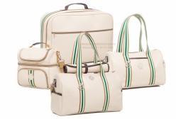 Conjunto Completo Bolsas Maternidade St. James Bege Lequiqui