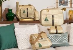 Conjunto Completo de Bolsas Maternidade Victoria Ouro Lequiqui