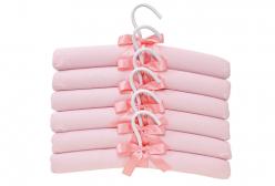 Conjunto de Cabides para Bebê Ballet Rosa Hug