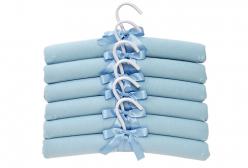 Conjunto de Cabides para Bebê Carinhoso Azul Hug 6 peças
