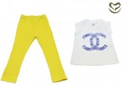Conjunto Valentina Santi Azulejo e Gel Amarelo - Gel Amarelo