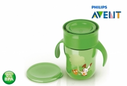 Copo Natural Philips Avent Antivazamento Verde 260ml