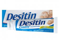 Desitin Creamy Creme para Assaduras Johnsons Baby 113g