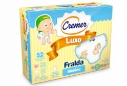Fralda Cremer Luxo Estampada Menino com 5 peças