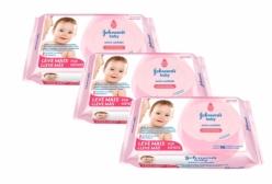 Kit 03 Lenços Umedecidos Johnsons Baby Extra Cuidado 96 Unidades