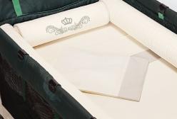Kit Berço Desmontável Imperial Marfim 7 Peças