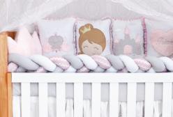 Kit Berço Enxoval Princesa Baby Magia 10 Peças